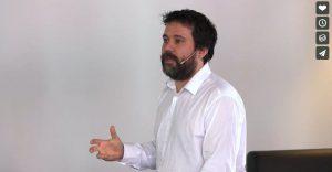 Nestor Guerra en el evento Lean en Oviedo