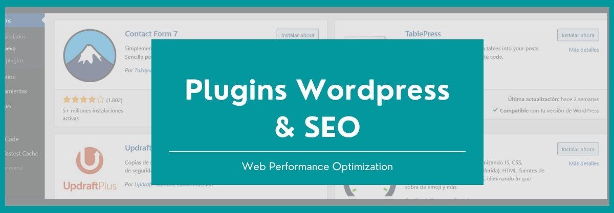 Plugins wordpress en SEO